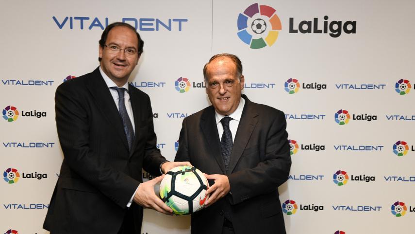 Vitaldent será la clínica dental oficial de LaLiga las dos próximas temporadas