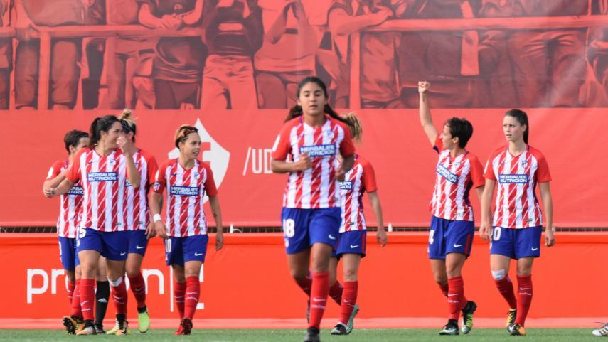 El At. Madrid Femenino se lleva el primer derbi ante el Madrid CFF