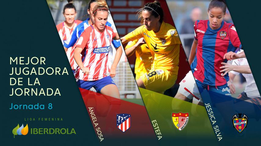 ¿Quién fue la mejor jugadora de la jornada 8 de la Liga Femenina Iberdrola?