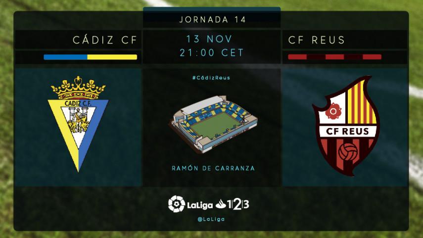 El Cádiz recibe a un Reus en racha