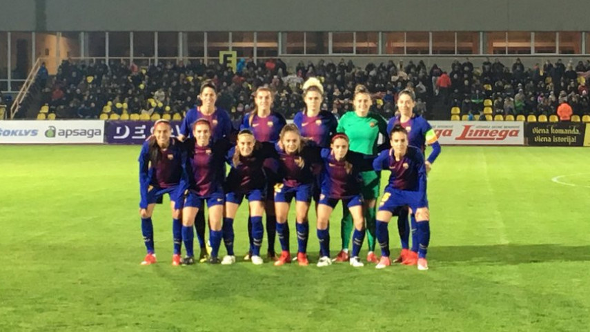 El Barcelona deslumbra en la UEFA Women's Champions League