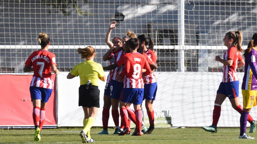 El At. Madrid Femenino suma y sigue