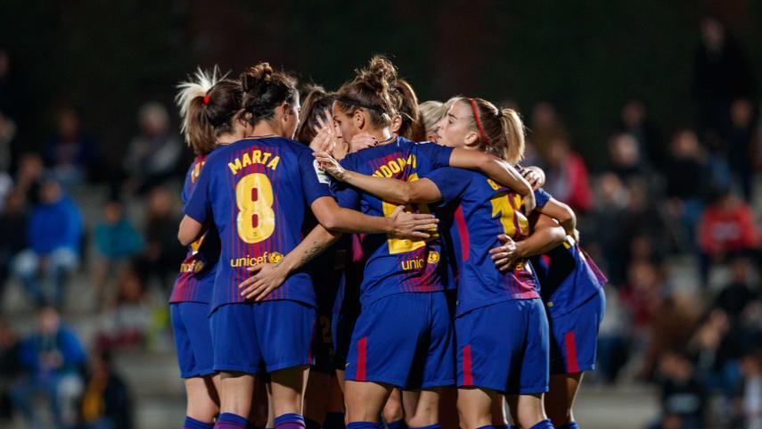 El FC Barcelona estará en los cuartos de final de la Champions por cuarta vez en su historia