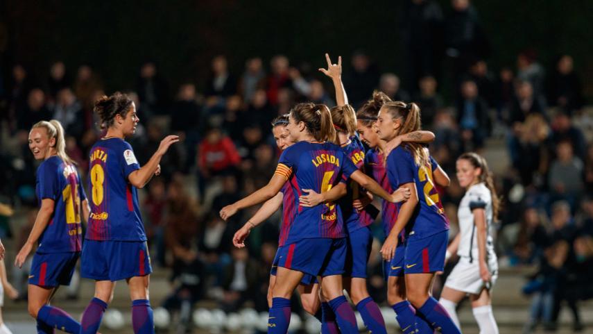 Bárbara Latorre brilla con luz propia en la goleada del FC Barcelona ante el Madrid CFF