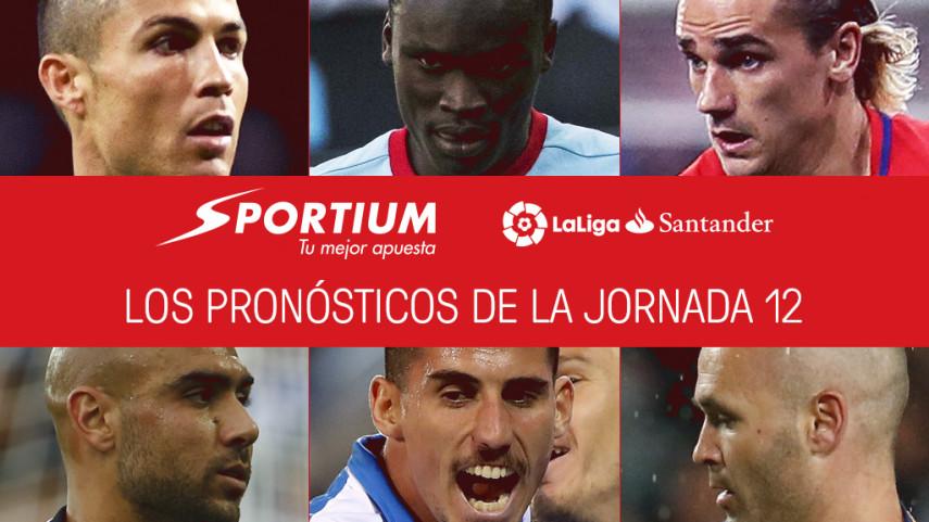 Las recomendaciones de Sportium para la jornada 12 de LaLiga Santander