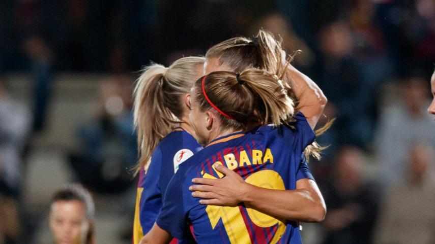 El Barcelona femenino, a un paso de los cuartos de la Women's Champions League
