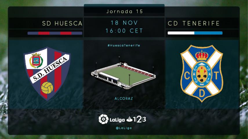 El Huesca quiere agarrarse al liderato