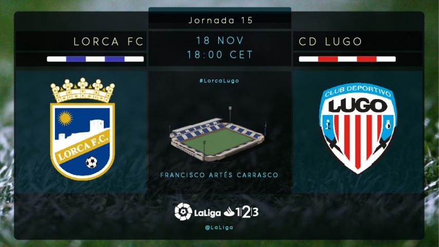 Un Lugo en play-off visita a un Lorca en urgencias