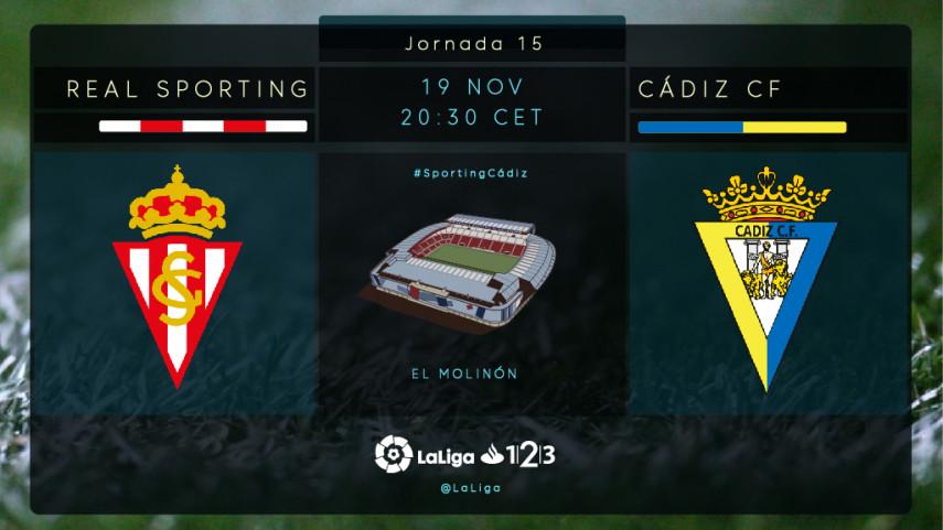 Sporting y Cádiz no quieren bajar el pistón