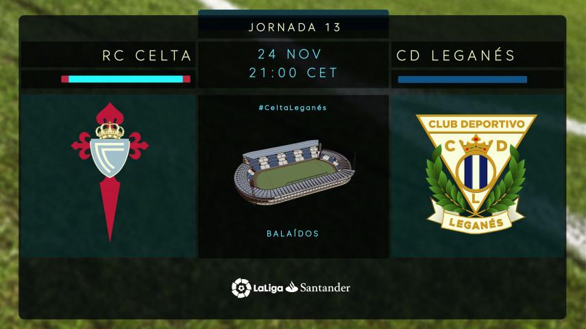 Celta y Leganés buscan tres puntos para mirar hacia arriba