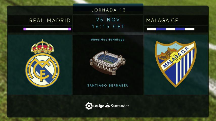 Objetivos diferentes en el Santiago Bernabéu