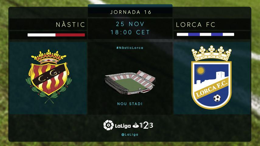 El Lorca persigue una victoria balsámica en Tarragona