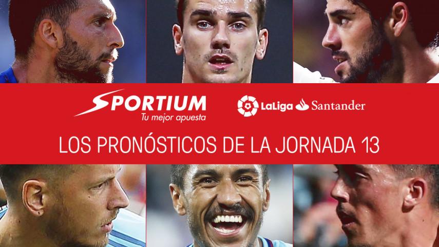 Las recomendaciones de Sportium para la jornada 13 de LaLiga Santander