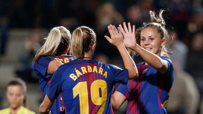 El Olympique de Lyon, rival del FC Barcelona en los cuartos de final de la UEFA Women's Champions League