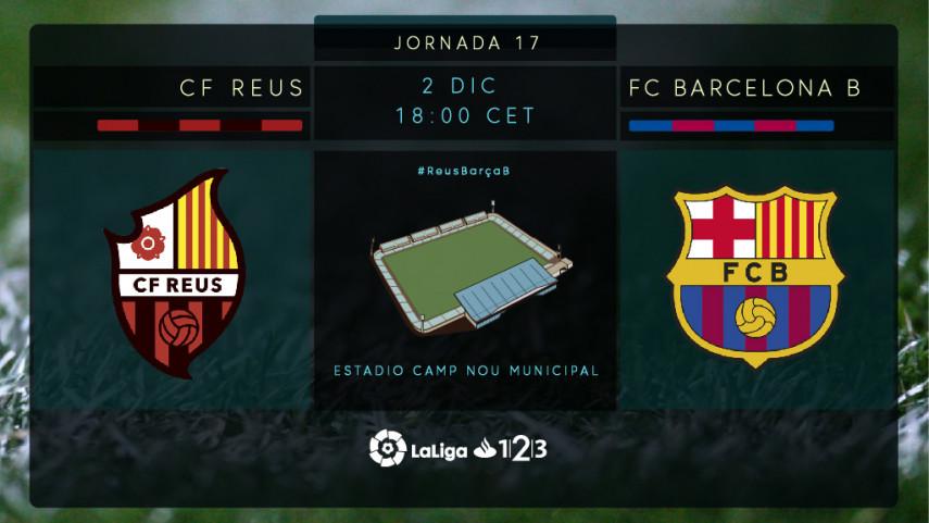 Reus y Barcelona B quieren volver a ganar