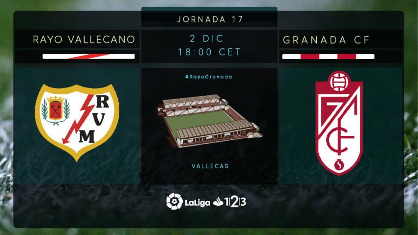 Rayo y Granada ponen en juego sus aspiraciones