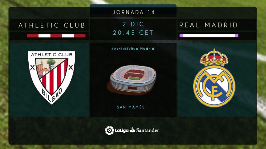 San Mamés espera al Real Madrid