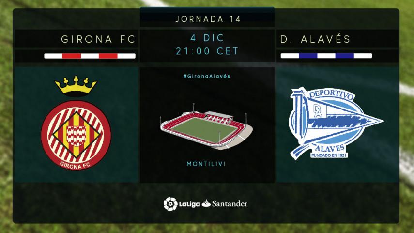 El Alavés quiere empezar de nuevo en Girona