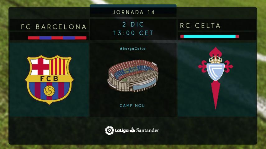 Unzue mide a un FC Barcelona intratable