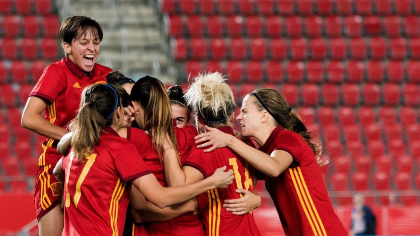 Golpe de autoridad de España de camino al Mundial 2019