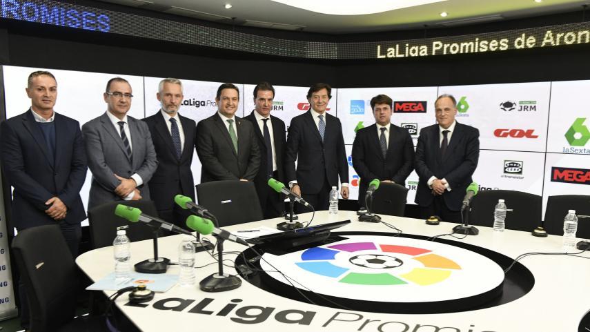 LaLiga y la Fundación JRM presentan el XXII Torneo LaLiga Promises de Arona (Tenerife)