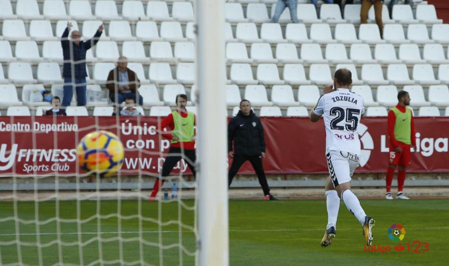 Роман Зозуля забил свой третий мяч за«Альбасете»