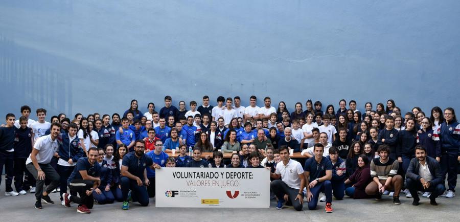 La Fundación EF Mareo se suma al proyecto 'Valores en Juego'