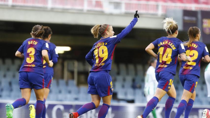 El FC Barcelona no falla ante el Betis