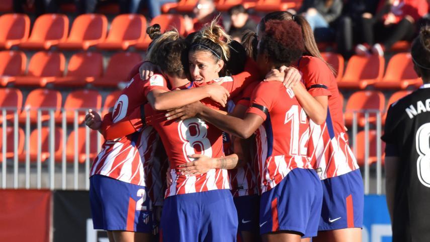 El At. Madrid Femenino no da tregua en la Liga Iberdrola
