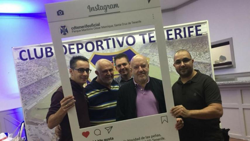 Las peñas del CD Tenerife mantienen un encuentro con el presidente del club
