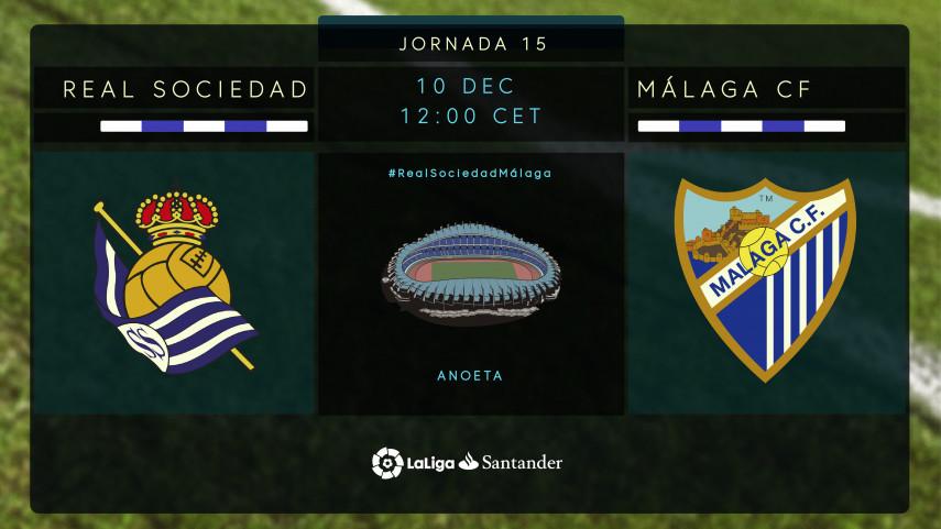 Real Sociedad y Málaga CF necesitan una reacción