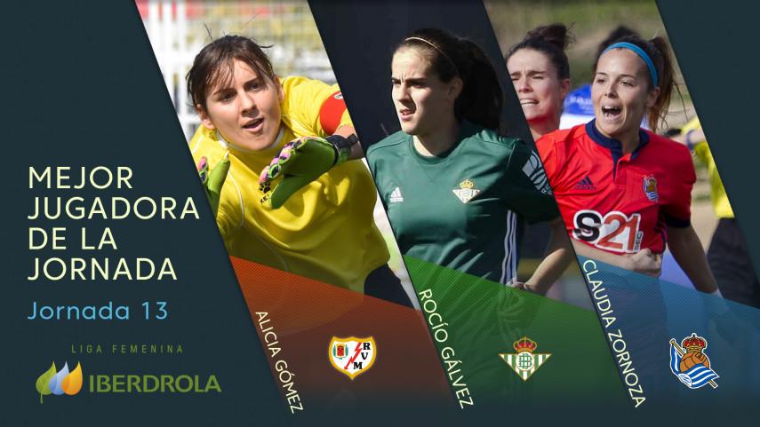 ¿Quién fue la mejor jugadora de la jornada 13 de la Liga Femenina Iberdrola?