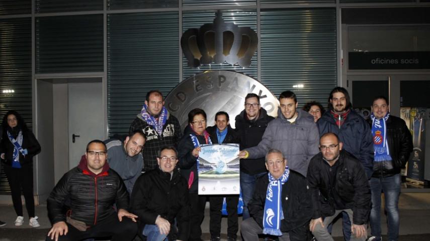 La intensa navidad de los aficionados del RCD Espanyol