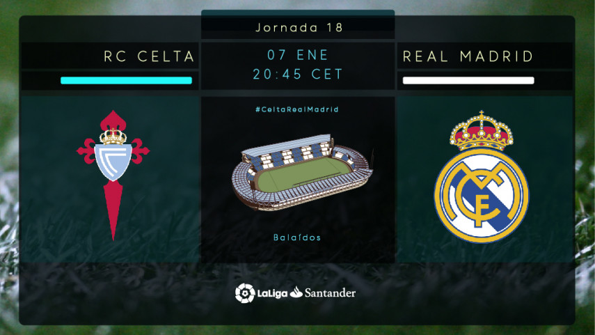 New year, new start for Celta and Real Madrid