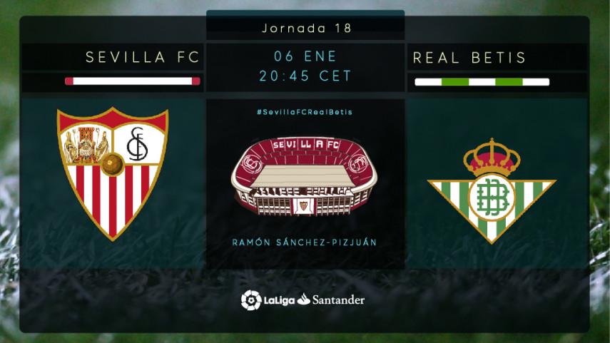 El año en Sevilla comienza por todo lo alto: Se juega #ElGranDerbi