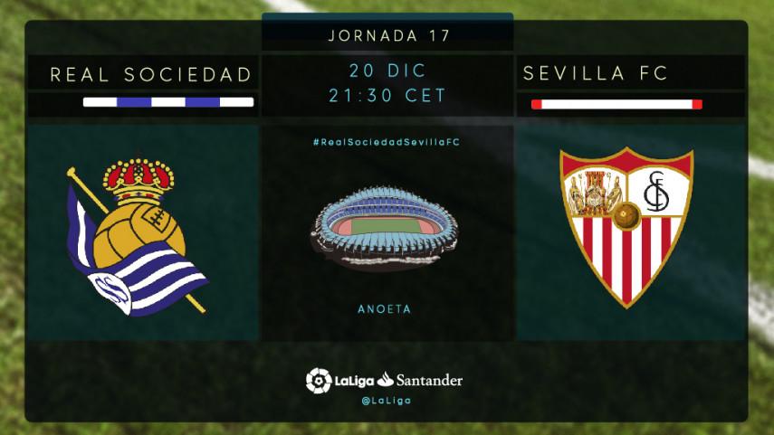 Real Sociedad y Sevilla buscan un cambio de dinámica