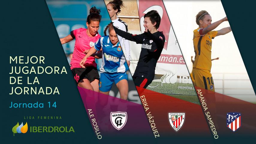 ¿Quién fue la mejor jugadora de la jornada 14 de la Liga Femenina Iberdrola?
