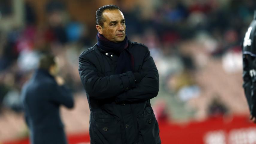 Oltra trabaja contrarreloj con el equipo para afrontar el partido ante el Córdoba