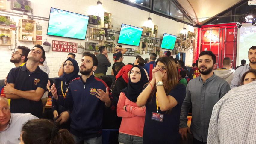 El Clásico de las Peñas Blaugranas
