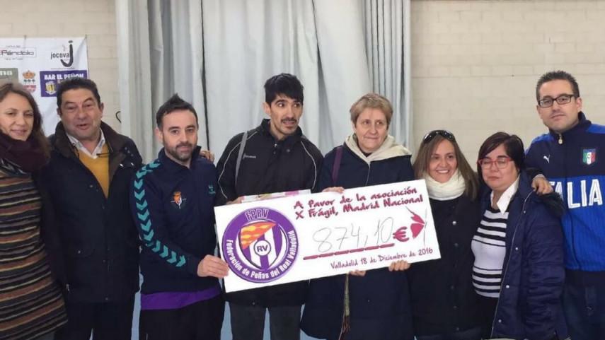 II Torneo de las Peñas del Real Valladolid en beneficio de la Asociación X-Frágil