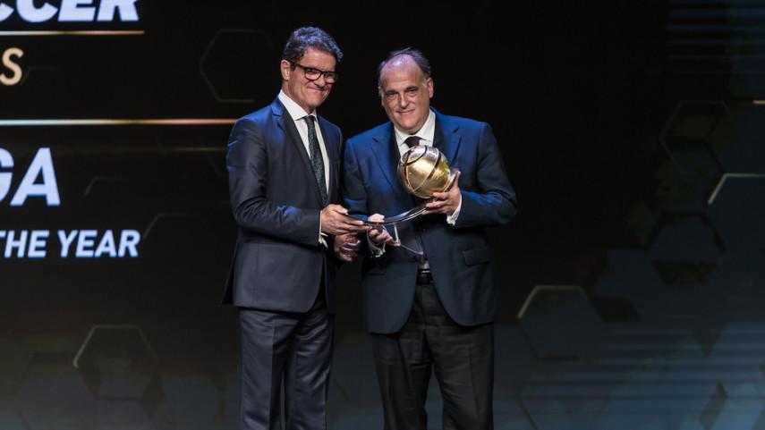 LaLiga, premiada como la mejor liga del año