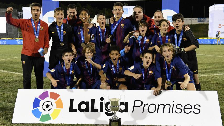 ¡El FC Barcelona conquista LaLiga Promises!