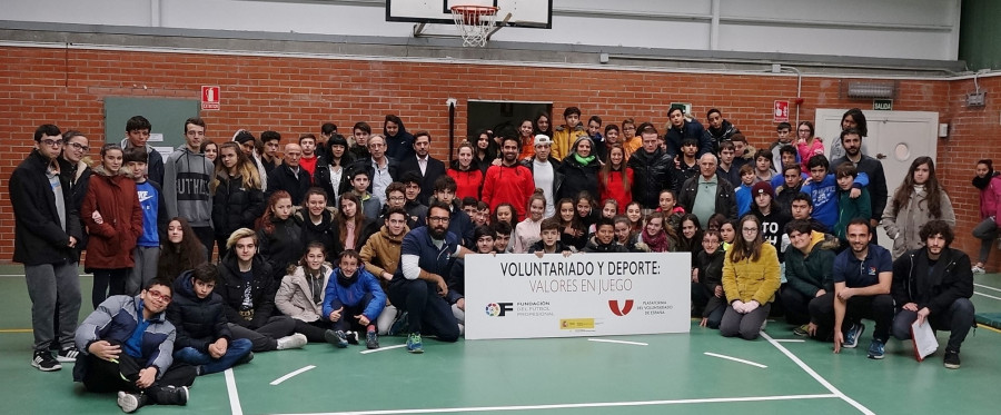 El Rayo Vallecano y el CD Leganés participan en el proyecto 'Valores en Juego'