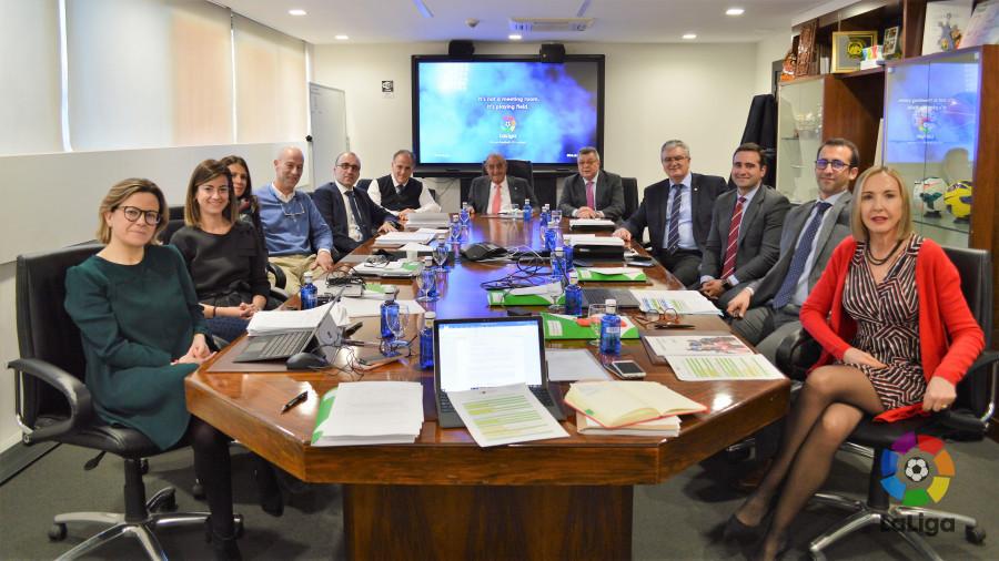La Fundación de LaLiga celebró su 2ª Junta General Ordinaria