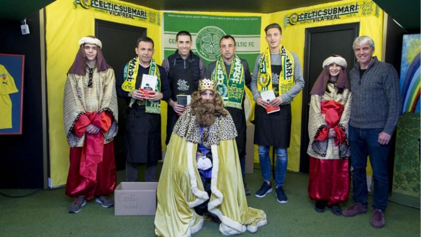 La peña Celtic Submarí disfruta de la llegada de los Reyes Magos