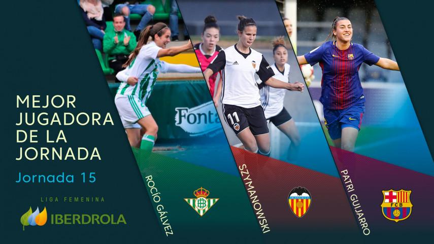 ¿Quién fue la mejor jugadora de la jornada 15 de la Liga Femenina Iberdrola?