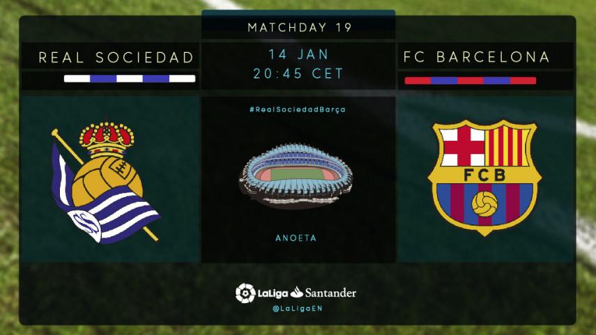 Barcelona seeking to end Anoeta jinx