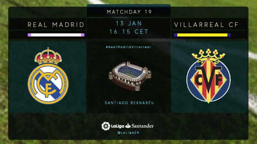 Real Madrid seek a reaction against Villarreal