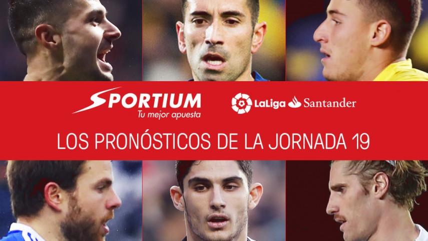 Las recomendaciones de Sportium para la jornada 19 de LaLiga Santander