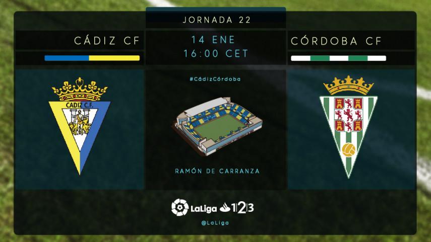 El Córdoba quiere ponerle freno a la racha del Cádiz